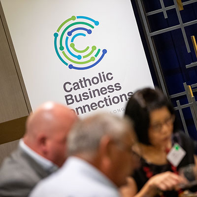 Catholic Business Connections hosts first luncheon